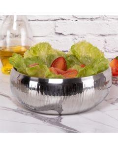 Saladeira Gourmet 23,5cm Wave Havan - Inox