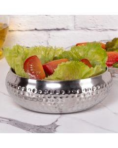 Saladeira Gourmet 36,5cm Poá Havan - Inox