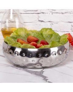 Saladeira Gourmet 36,5cm Prisma Havan - Inox