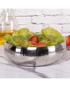Saladeira Gourmet 36,5cm Wave Havan - Inox