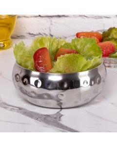 Saladeira Gourmet Prisma 15cm Havan - Inox