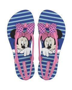 Sandália Infantil Minnie Mouse Ipanema - Azul 32-33
