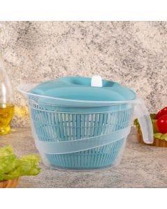 Secador de Saladas 4 Litros Edu Guedes Plasútil - Azul