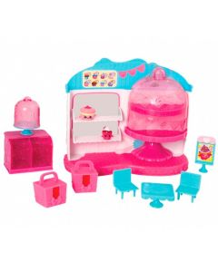 Shopkins Café Rainha Cupcake com 2 Shopkins Exclusivos DTC - DIVERSOS