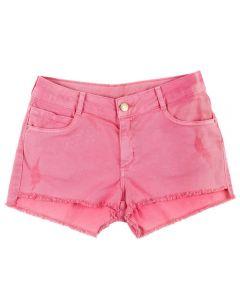 Shorts de 12 a 16 Anos Sarja Assimétrico Marmelada