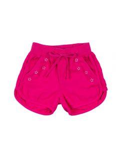 Shorts Runner de 4 a 10 Anos Marmelada Magenta