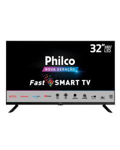 """Smart Tv Led 32"""" Hd Ptv32g70sbl Philco - Bivolt"""
