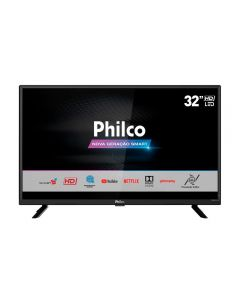 "Smart TV LED 32"" PTV32G52S Philco - Bivolt"