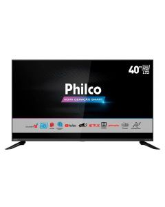 "Smart TV LED 40"" HD PTV40G60SNBL Philco - Bivolt"