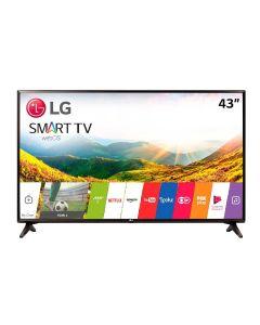 "Smart TV LED 43"" Full-HD LG 43LJ5550 WiFi Netflix - Bivolt"