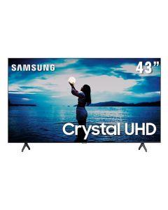 "Smart Tv Led 43"" 4K Crystal Uhd Samsung Tu7020 - Bivolt"