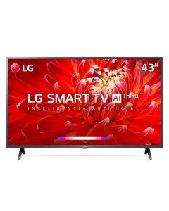 "Smart TV LED 43"" AI ThinQ Full HD 43LM6300PSB LG - Bivolt"