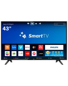 "Smart TV LED 43"" Full-HD 43PFG5813/78 Philips - Bivolt"