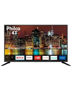 "Smart TV LED 43"" Full-HD PTV43G50SN Philco - Bivolt"