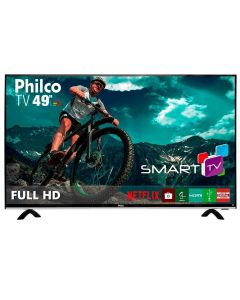 "Smart TV LED 49"" Full HD PTV49E68DSWN Philco - Bivolt"