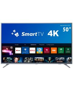 "Smart TV LED 50"" 4K 50PUG6513/78 Philips - Bivolt"