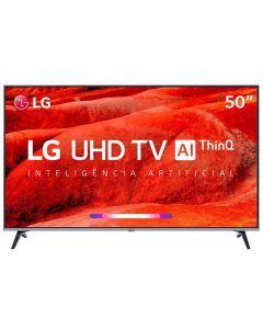 """Smart TV LED 50"""" 4K ThinQ AI 50UM7510PSB LG - Bivolt"""