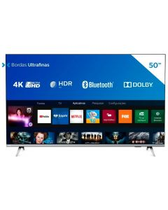 "Smart Tv Led 50"" 4K Uhd Philips 50Pug6654/78 - Bivolt"