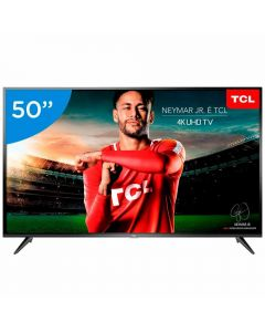 "Smart TV LED 50"" HDR 4K UHD P65US TCL - Bivolt"