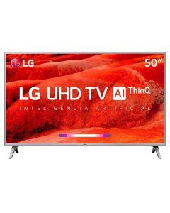 """Smart TV LED 50"""" UHD 4K HDR ThinQ AI 50UM7500PSB LG - Bivolt"""