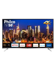 "Smart TV LED 50"" Ultra-HD 4K Philco PTV50F60SN - Bivolt"