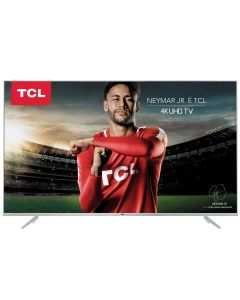 "Smart TV LED 50"" Ultra-HD 4K TCL 50P6US com NetFlix - Bivolt"