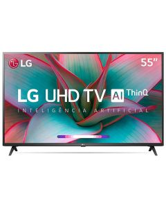 "Smart Tv Led 55"" 4K Uhd Lg 55Un7310psc - Bivolt"