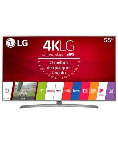"Smart TV LED 55"" 55UJ6585 Ultra-HD 4K Wi-fi LG - Bivolt"