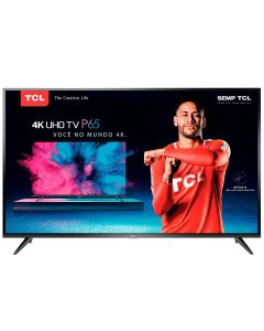"Smart TV LED 55"" P65US Ultra HD 4K HDR TCL - Bivolt"