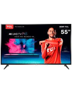 """Smart Tv Led 55"""" P65us Ultra Hd 4K Hdr Tcl - Bivolt"""