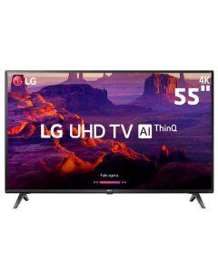 """Smart TV LED 55"""" ThinQ AI 4K HDR 55UK6360PSF LG - Bivolt"""