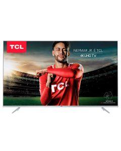 """Smart TV LED 55"""" Ultra-HD 4K TCL 55P6US - Bivolt"""