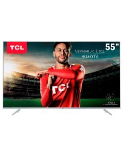 "Smart Tv Led 55"" Ultra-Hd 4K Tcl 55P6us - Bivolt"