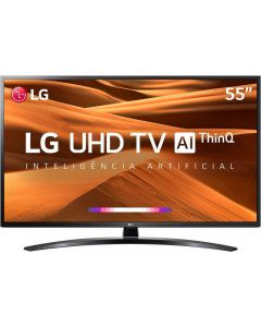 "Smart TV LED 55UM7470PSA 55"" Ultra HD 4K Com Inteligência Artificial ThinQ LG - Bivolt"