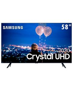 "Smart Tv Led 58"" 4K Crystal Uhd Samsung Tu7000 - Bivolt"