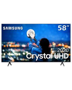 "Smart Tv Led 58"" 4K Crystal Uhd Samsung Tu7020 - Bivolt"
