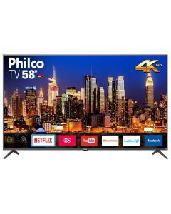 "Smart TV LED 58"" 4K PTV58F60SN Philco - Bivolt"