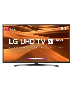 "Smart TV LED 60"" 4K ThinQ AI 60UM7270PSA LG - Bivolt"