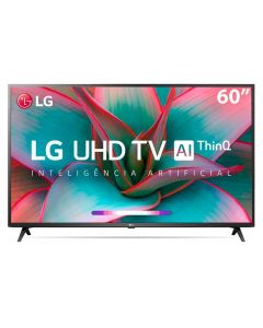 "Smart Tv Led 60"" 4K Uhd Lg 60Un7310psc - Bivolt"