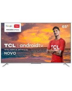 """Smart Tv Led 65"""" 4K Uhd Android Tcl - Bivolt"""