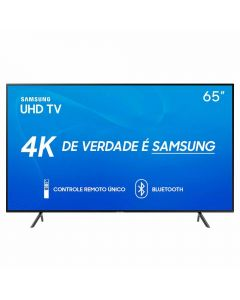 "Smart TV LED 65"" UHD 4K RU7100 Samsung - Bivolt"