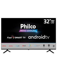 "Smart Tv Led Hd 32"" Philco Ptv32e20agbl - Bivolt"