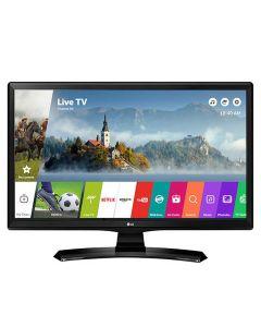 "Smart TV Monitor LED 24"" HD LG 24MT49S-PS com Wi-Fi - Bivolt"