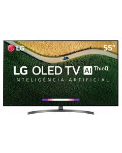 "Smart TV OLED 55"" 4K ThinQ AI OLED55B9PSB LG - Bivolt"