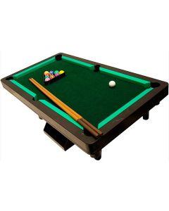 Snooker de Luxo com 11 Bolas Coloridas e 2 Tacos Braskit - DIVERSOS