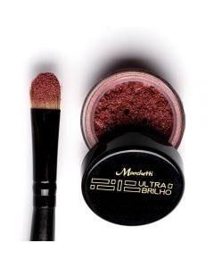 Sombra Ultra Brilho Marchetti - Vermelho