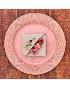 Sousplat Provençal Havan - Rose