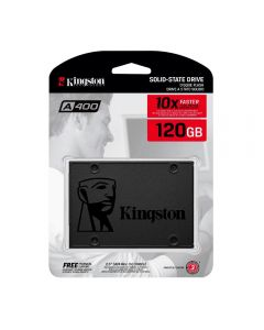 Ssd Kingston 120Gb A400 Sata - Preto