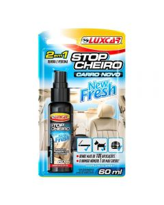 Stop Cheiro New Fresh Spray 60ml Luxcar - Carro Novo