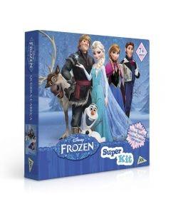 Super Kit de Jogos da Frozen Toyster - 2199 - Azul